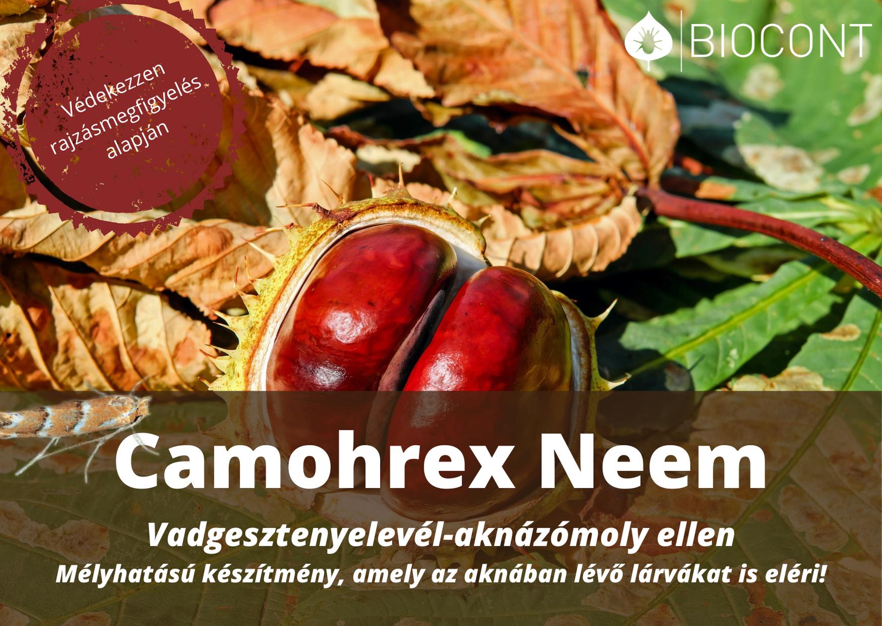 Camohrex-Neem-Vadgesztenyelevel-aknazomoly.